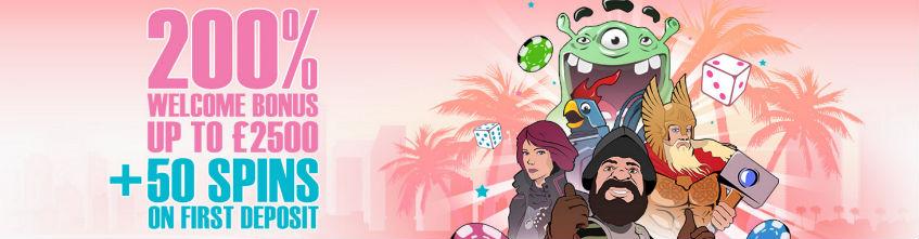 Miami Dice Casino 200 free spins