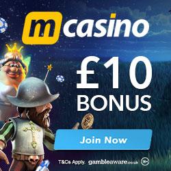 M Casino no deposit bonus