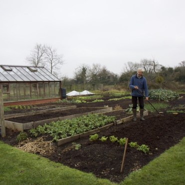 All of the beds will be composted this winter