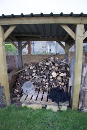storing firewood