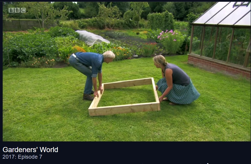 no dig bed Gardener's World Charles Dowding
