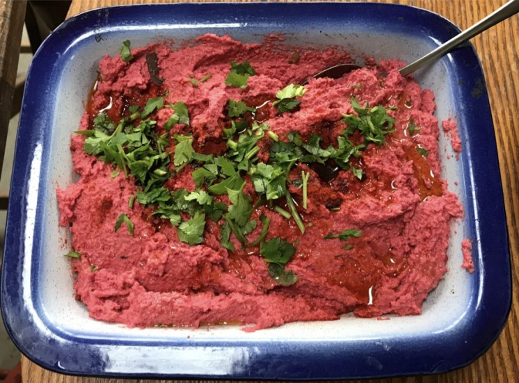 roast veg hummus