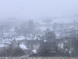 a view across Bruton