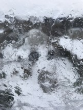 my bedroom window was a sheet of ice