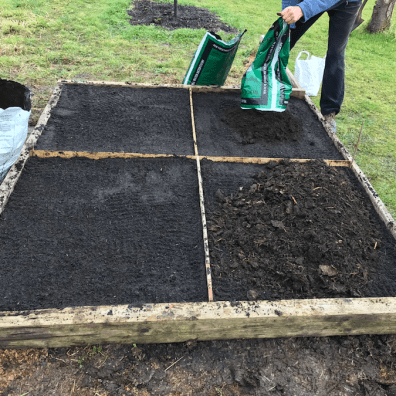topping up the three other beds