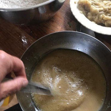 wet ingredients