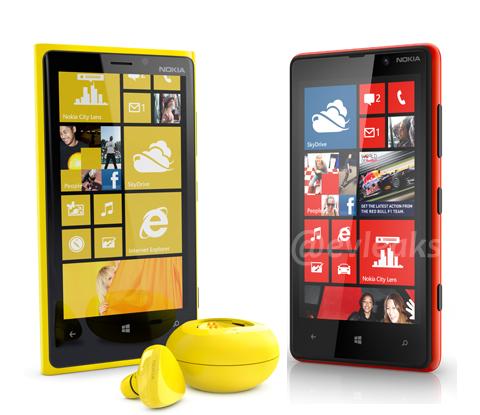 Nokia Lumia 920 y 820