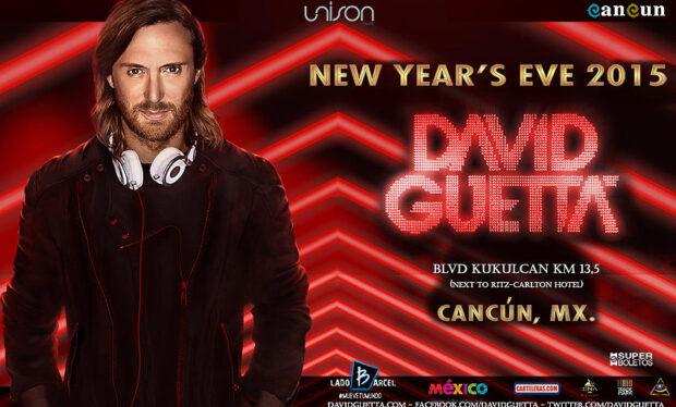 Celebra la llegada del 2015 con David Guetta en Cancún