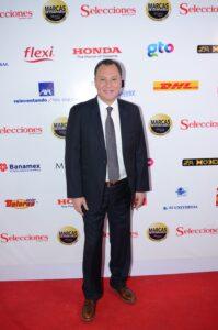 Mariano Osorio, ganador en la categoría Locutor de entretenimiento