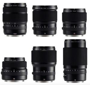 Lentes Fujinon GF Lens