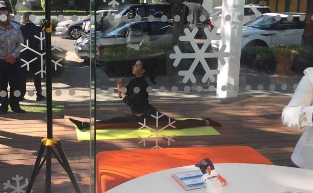 Vida saludable dentro de la tienda insignia de AT&T en Polanco