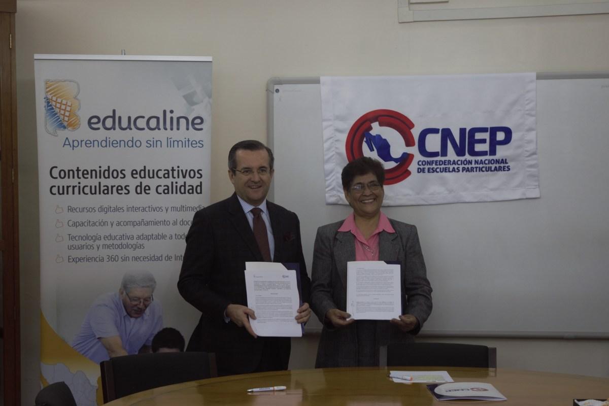 MILES DE ESCUELAS PARTICULARES SE BENEFICIAN DE CONTENIDOS DIGITALES CON ALIANZA CNEP - EDUCALINE