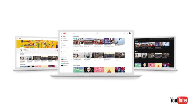 Nuevo diseño de youtube