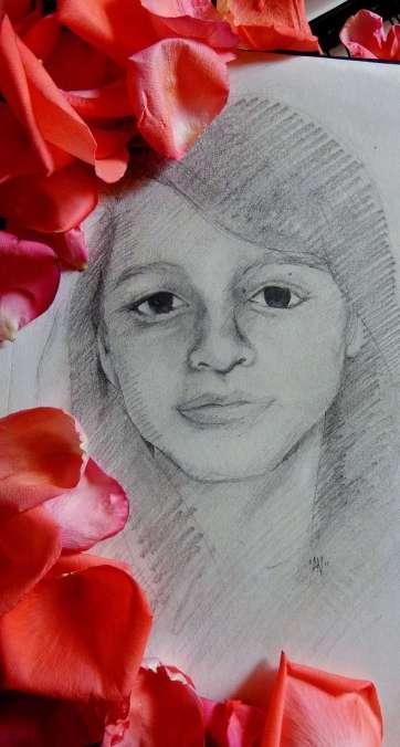 21. Keila Rebeca López Salguero, por Pigmento Negro