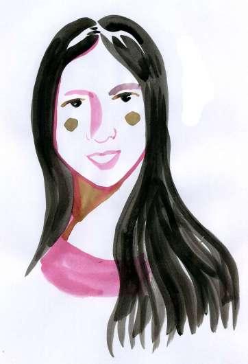 3. Daria Dalila López Meda, por Enrique Flores