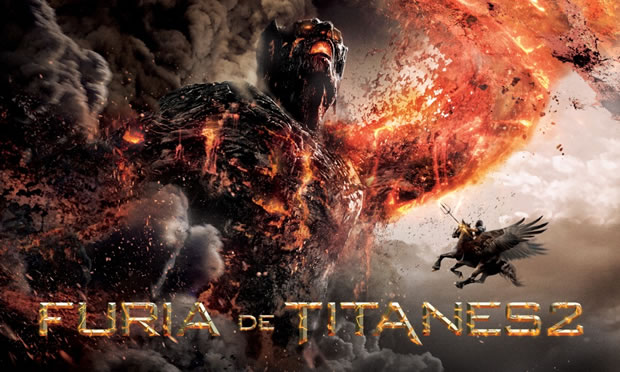 Personajes y criaturas: Furia de Titanes 2
