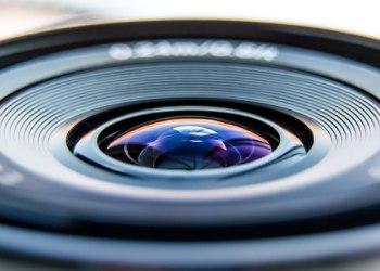 lente de cámara