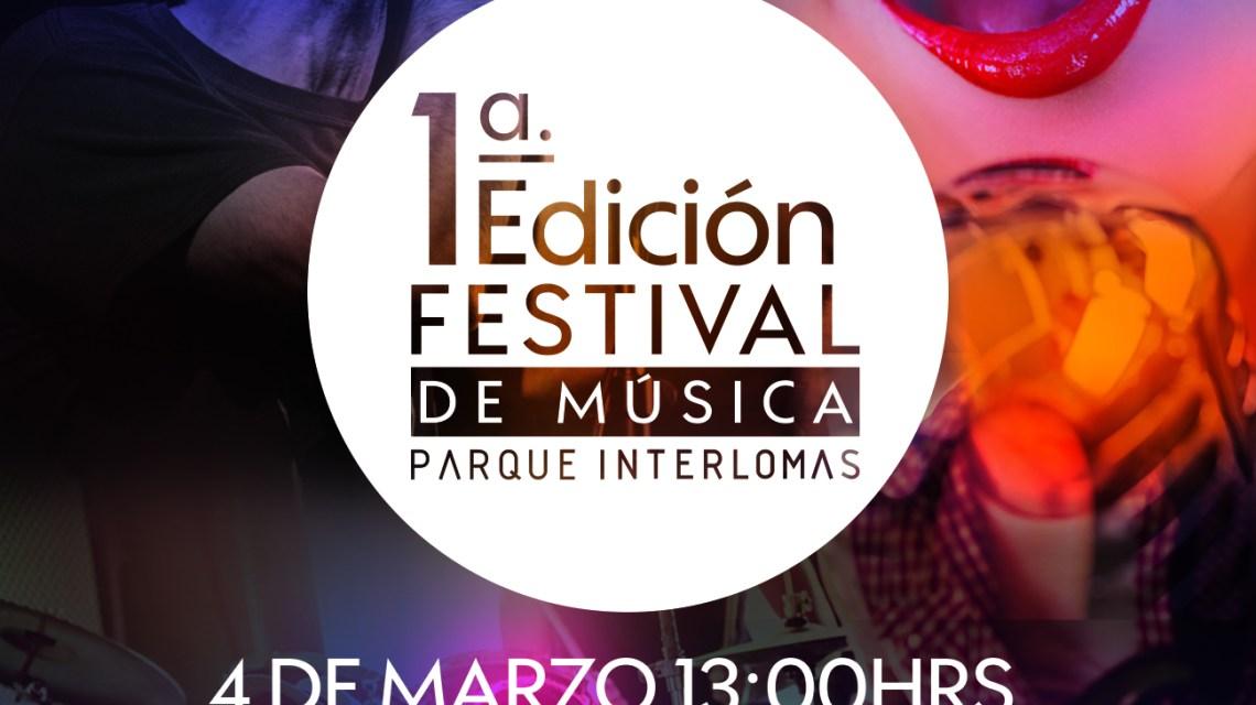 ¡Llega la primera edición del Festival de Música, en Parque Interlomas!