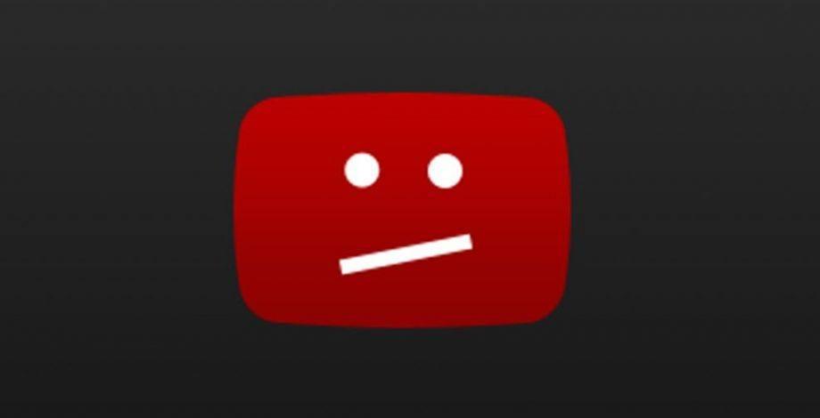 """Caída de YouTube: """"Estamos trabajando en resolverlo"""""""