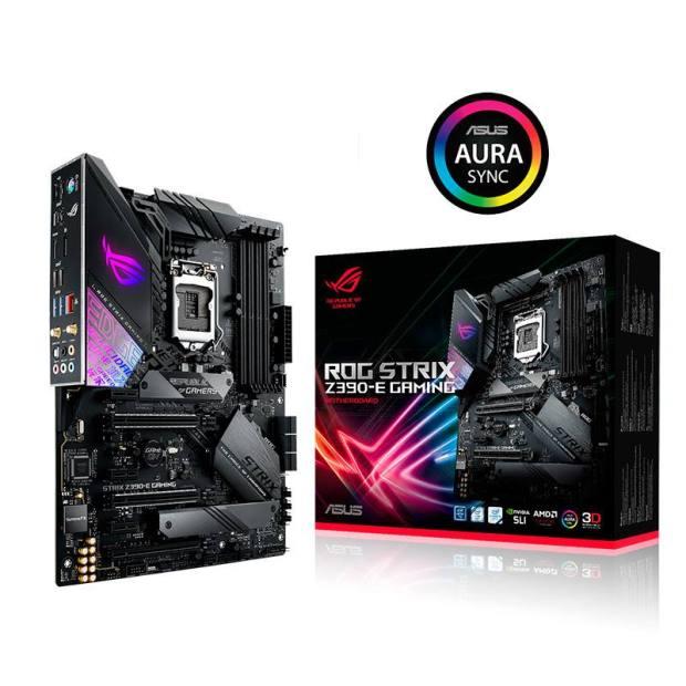 Asus tarjetas madre Intel Z390 E Gaming