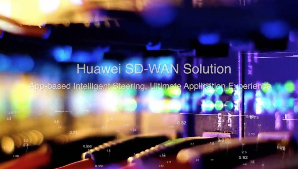 Huawei lanza los enrutadores SD-WAN de próxima generación