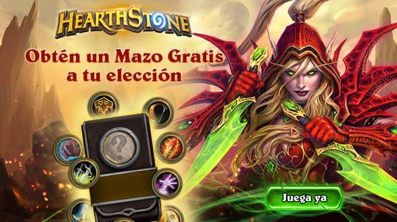 mazo gratis hearthStone