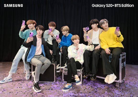 Galaxy S20+ Edición BTS