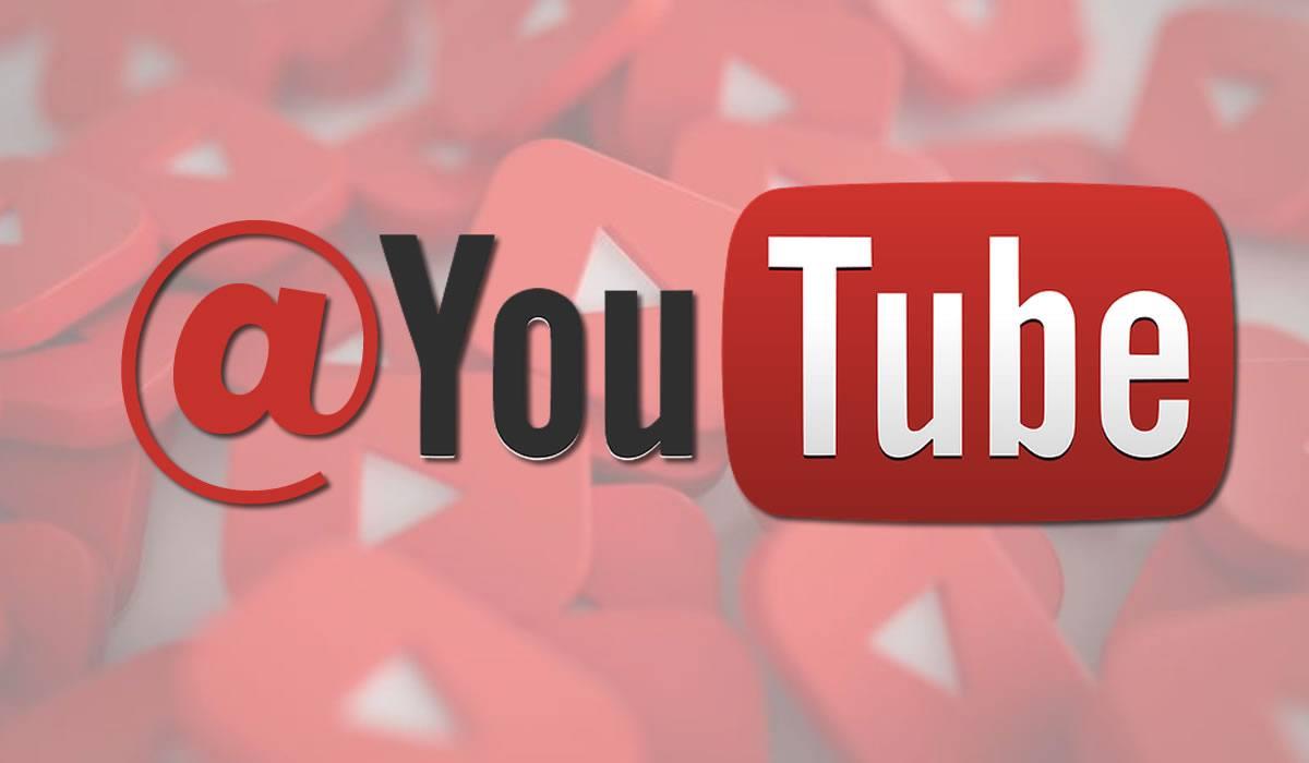 arrobar en YouTube
