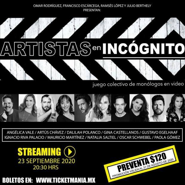 Artistas en incognito
