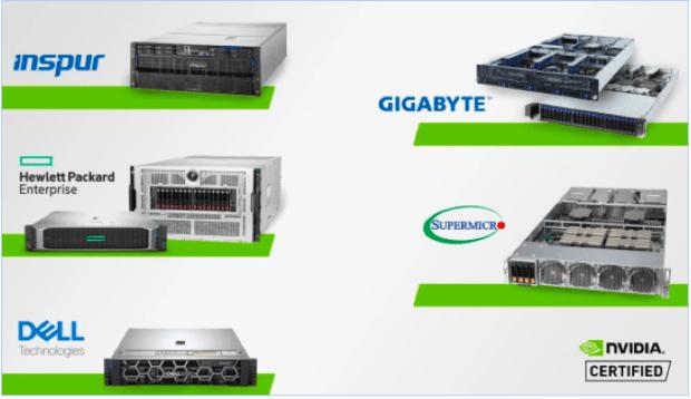 Los principales OEMs presentan los primeros Sistemas Certificados por NVIDIA