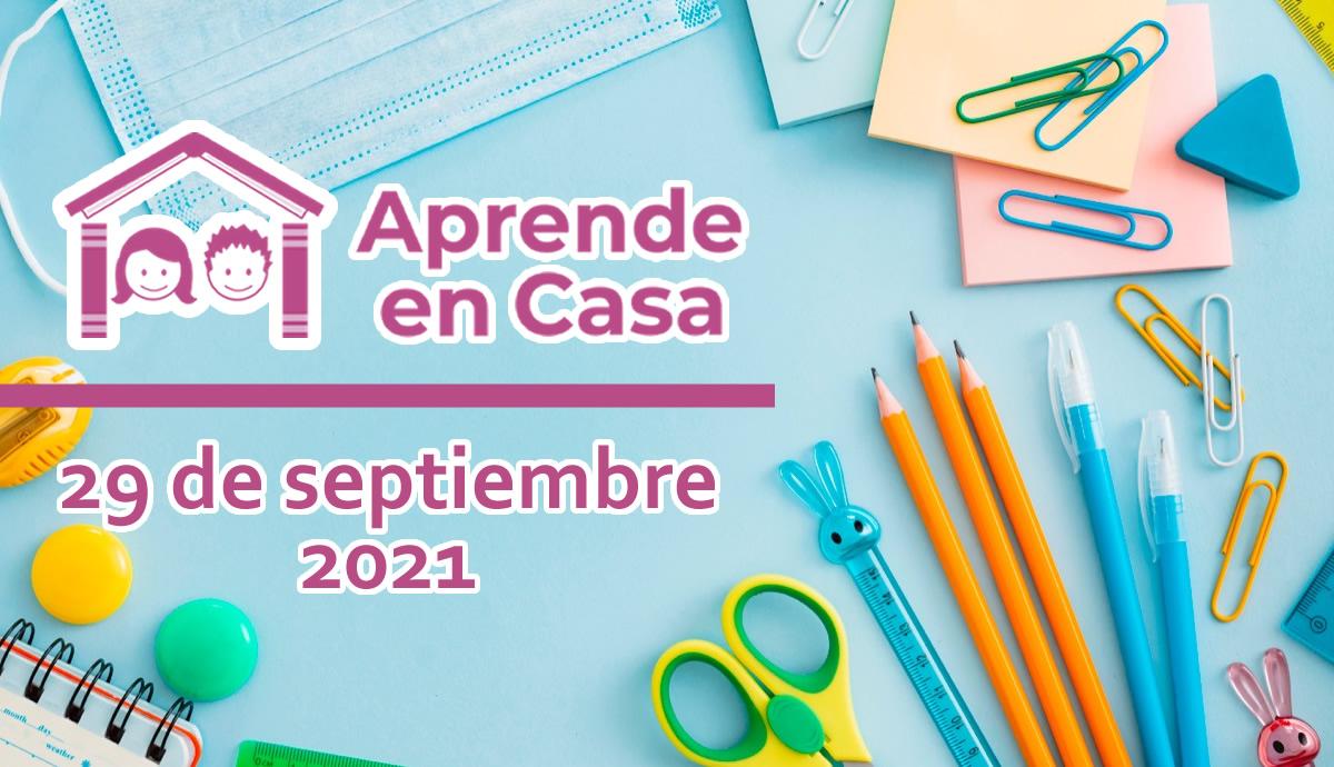 29 de septiembre aprende en casa