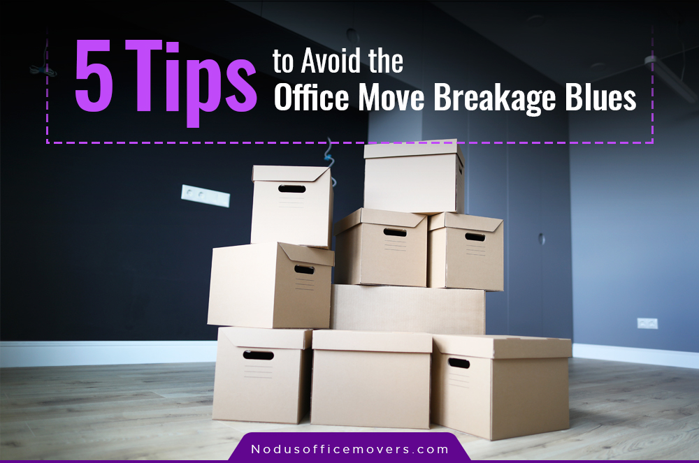 office moving breakage blues