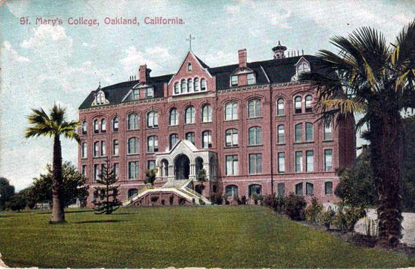 California Historical Landmark #676: Saint Mary's College ...