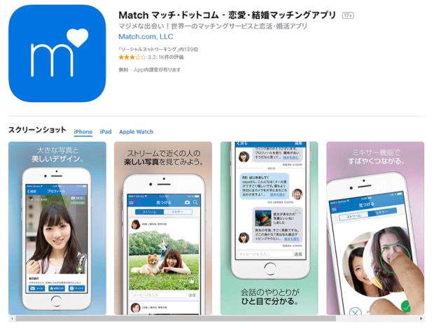 Match.com(マッチ・ドットコム)