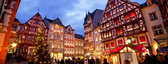 Un marché de Noël à Bernkastel