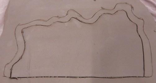 Drawing third layer