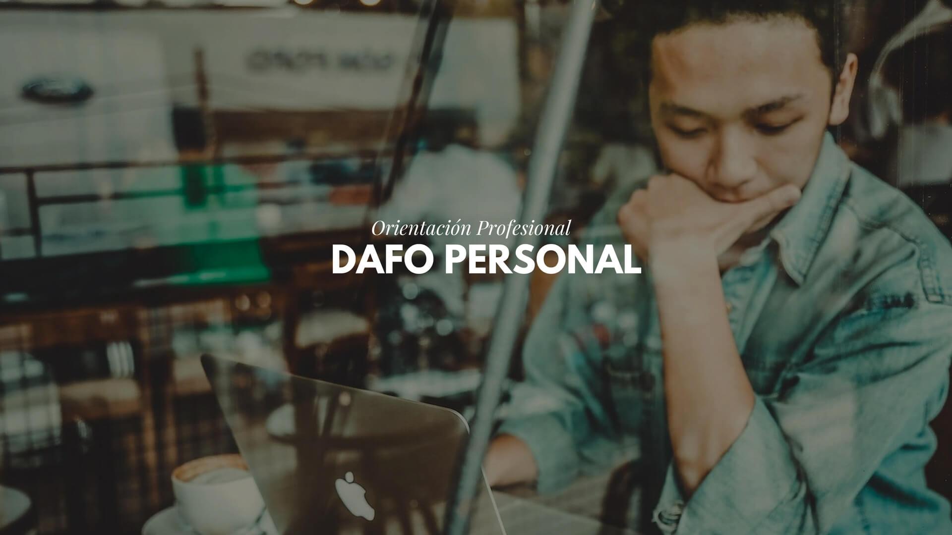 DAFO personal profesional