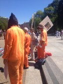 Demonstrators demand closure of Guantanamo