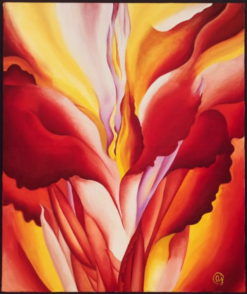 Red Canna, Georgia O'Keeffe