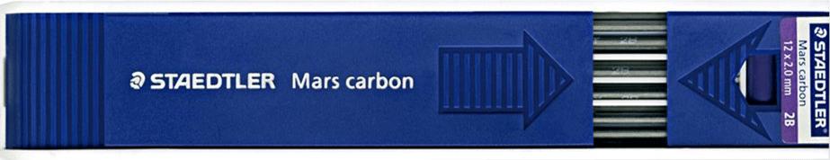 Staedtler Mars Carbon 12x2mm Lead