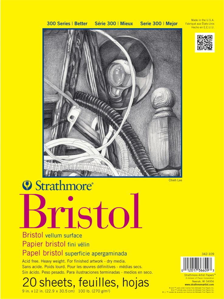Strathmore Bristol Vellum Paper Pad