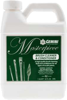 Gemini Masterpiece Brush Cleaner and Conditioner