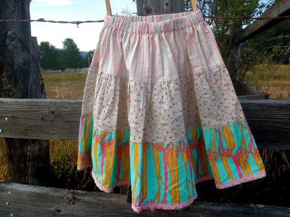 3 tier skirt