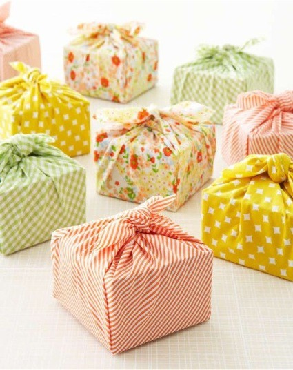 fabric wrapping paper