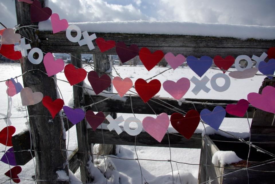 valentine XO banner