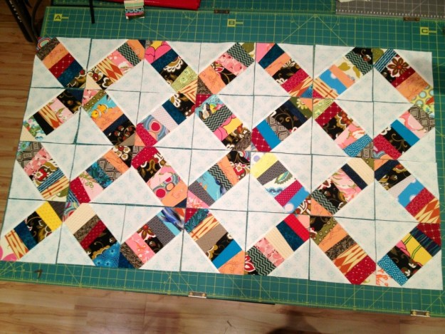 confetti quilt, foundation pieced .jpg