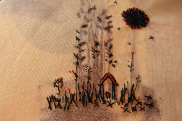 leila montero, unique embroidery ideas