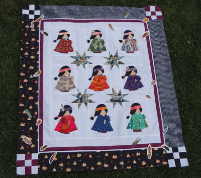 indian maidens quilt
