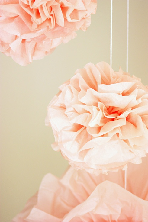 ruffle ball decor