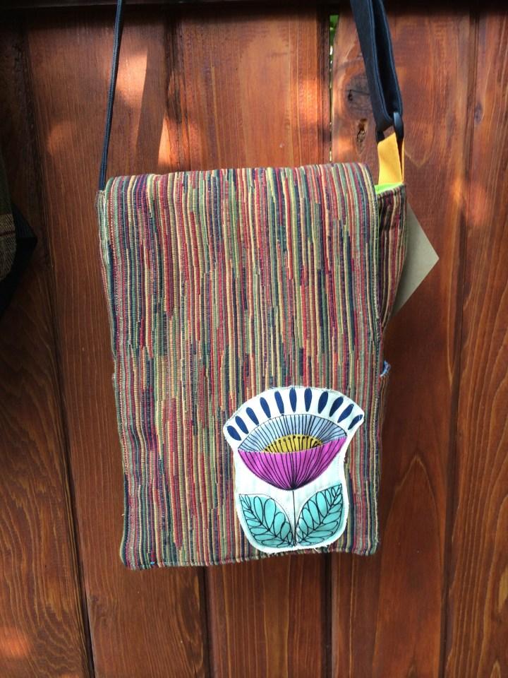 modern flower bag